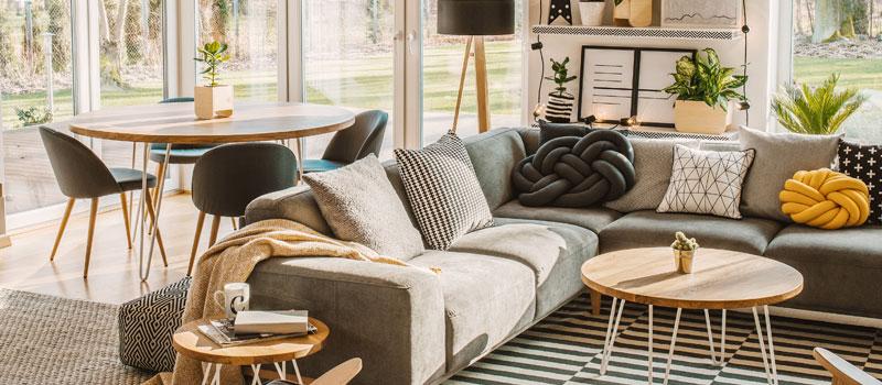 Mobilier pour locations meublées